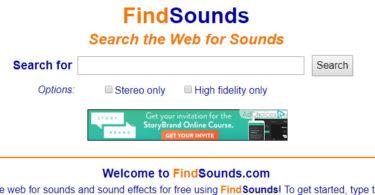 motore di ricerca di suoni e loops
