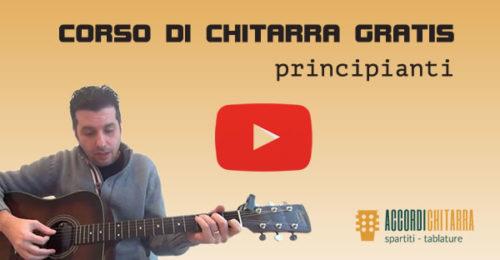 corso chitarra gratis