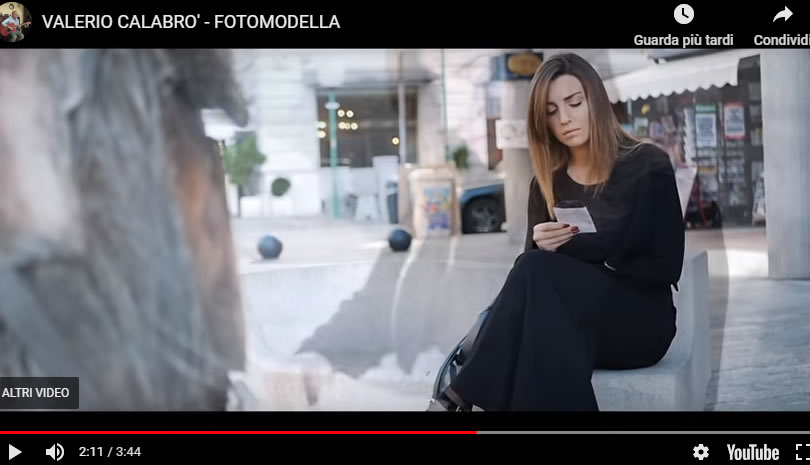 fotomodella
