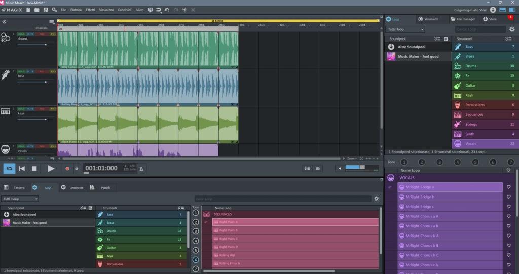 Magix music maker tutorial italiano